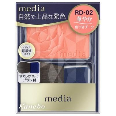 カネボウ メディア ブライトアップチークN RD−02