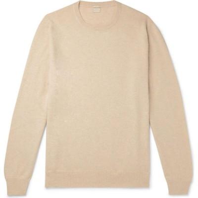 マッシモ アルバ MASSIMO ALBA メンズ ニット・セーター トップス Cashmere Blend Sand