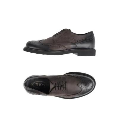 TOD'S トッズ レースアップシューズ ファッション  メンズファッション  メンズシューズ、紳士靴  その他メンズシューズ、紳士靴 ダークブラウン