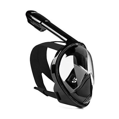 Snorkel mask black S/M