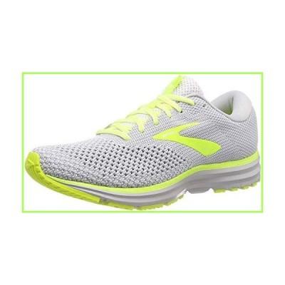 Brooks Mens Revel 2 Running Shoe, Grey/Black/Nightlife, 11 US【並行輸入品】