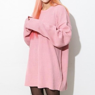 BULLANG GIRL レディース ニット/セーター O Buffett Long Knit