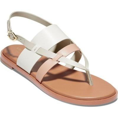 コールハーン Cole Haan レディース サンダル・ミュール シューズ・靴 Finley Grand Sandals Ivory/mahogany Rose/pumice Stone