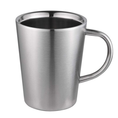 MX マグカップ コーヒーカップ マグカップ ステンレス製 調理器具 キャンプ用品 クッカー コッヘル (ステンレス 350ml)