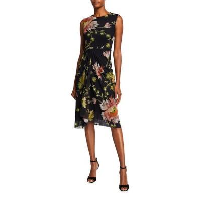 フィッジ レディース ワンピース トップス Sleeveless Tudor Stitch Dress