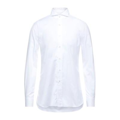 XACUS シャツ ホワイト 41 コットン 100% シャツ
