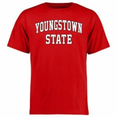 Fanatics Branded ファナティクス ブランド スポーツ用品  Youngstown State Penguins Red Everyday T-Shirt