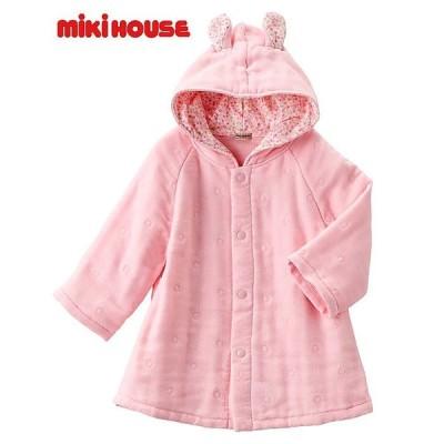 ( ミキハウス mikihouse ) バスローブ ( 40-3811-786 ) ピンク