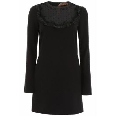 N.21/ヌメロ ヴェントゥーノ ドレス BLACK N.21 crepe mini dress レディース 秋冬2019 H041 5395 ik