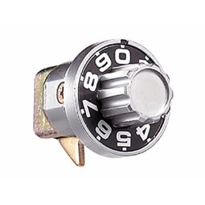 ナスタ ダイヤル錠 ヨコ型 集合郵便受箱用錠前 SPK-4 1個