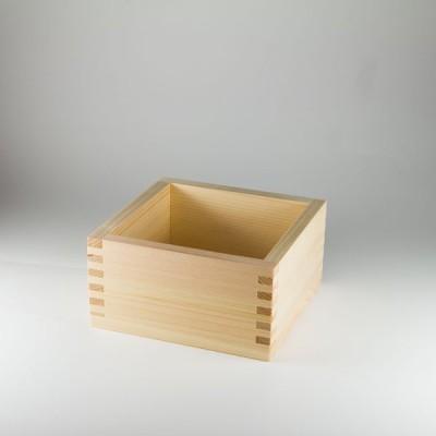 檜5合枡 (桧・ヒノキ) 15-206-02 (名入れ彫刻や焼印可能!別途お見積り)