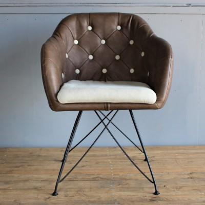 椅子 チェア モダン オシャレ リビング ダイニングチェア  Arm shell chair(アームシェルチェア) 送料無料