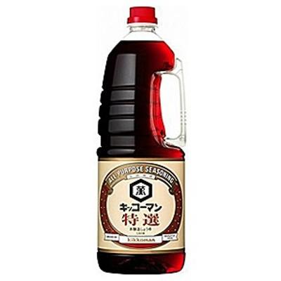 キッコーマン  特選濃口醤油 ペット 1.8L【イージャパンモール】