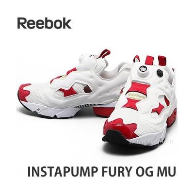 リーボック インスタポンプ フューリー OG MU REEBOK INSTAPUMP FURY OG MU メンズ スニーカー カラー:ホワイト/レッド/ブラック