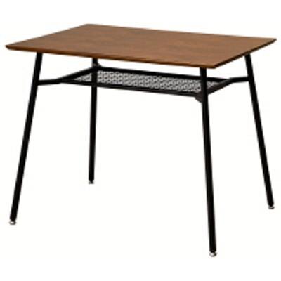 市場市場 anthem アンセムミーティングテーブルS ブラウン×ブラック ANT-2831BR 幅900×奥行600×高さ720mm (直送品)