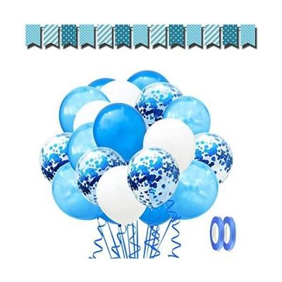 バルーン 風船 60個 きらきら紙吹雪風船 セッ誕生日 飾り 付け 風船 紙吹雪風船 ラテックス風船 バルーン パーティー お誕生日会 結婚式 飾り付