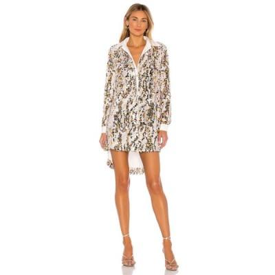 ハウスオブハーロウ1960 House of Harlow 1960 レディース ワンピース ワンピース・ドレス x REVOLVE Devina Dress Ivory