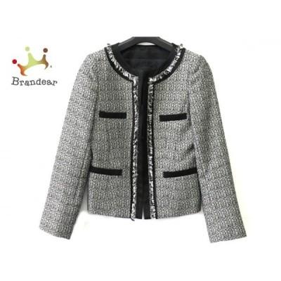 アンタイトル UNTITLED ジャケット サイズ2 M レディース - 黒×シルバー×白   スペシャル特価 20200620