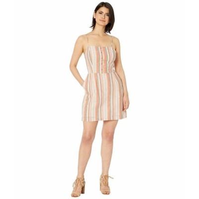 ロストアンドウォーター ワンピース トップス レディース City To Country Mini Dress Orange Stripe