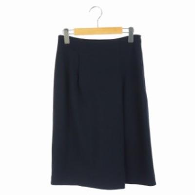 【中古】ボールジー BALLSEY トゥモローランド 19SS スカート タイト ロング 34 紺 /AO レディース