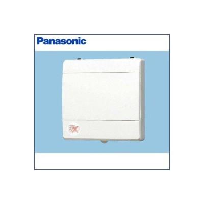 パナソニック パイプファン 排気 換気扇 壁・天井取付 高気密電気式シャッター付 角形インテリアパネル形 速結端子付 FY-08PP9D
