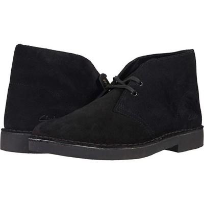 クラークス Desert Boot 2.0 メンズ ブーツ Black Suede