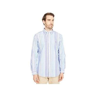 ポロ・ラルフローレン Classic Fit Long Sleeve Oxford Shirt メンズ シャツ トップス Run On Multi