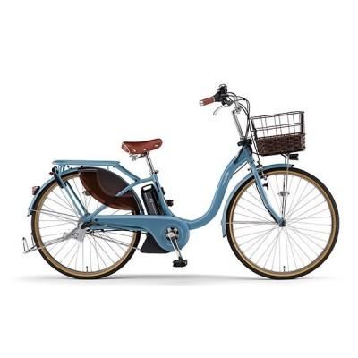 送料無料 ヤマハ(YAMAHA) 電動アシスト自転車 PAS With DX PA24WDX パウダーブルー2