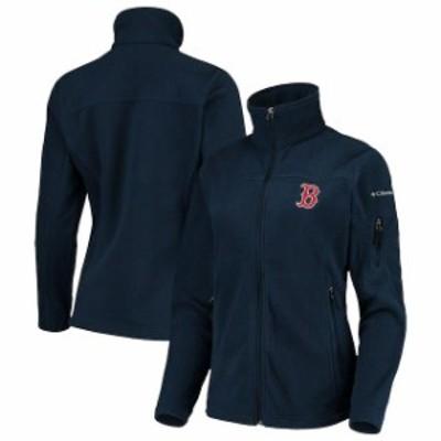 Columbia コロンビア スポーツ用品  Columbia Boston Red Sox Womens Navy Give & Go Full-Zip Jacket