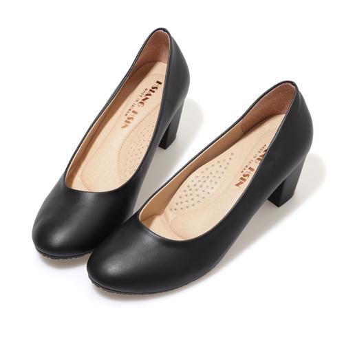 高跟鞋.MIT 都會通勤舒適圓頭包鞋