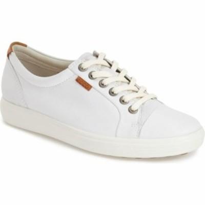 エコー ECCO レディース スニーカー シューズ・靴 Soft 7 Sneaker White