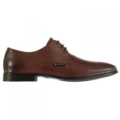 ベンシャーマン Ben Sherman メンズ シューズ・靴 Ludgate Shoes Brown Lthr