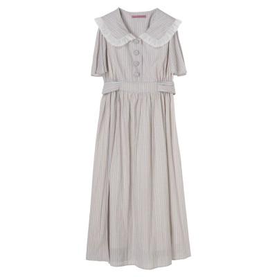 【ムック本掲載】ビックカラープリントドレス
