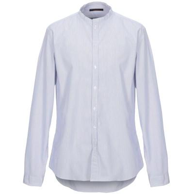 インディビジュアル INDIVIDUAL シャツ ブルー XL コットン 100% シャツ