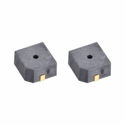 uxcell エレクトリックブザー アラーム用 ビープトーン プラスチック製 85dB 3.3V 2個入