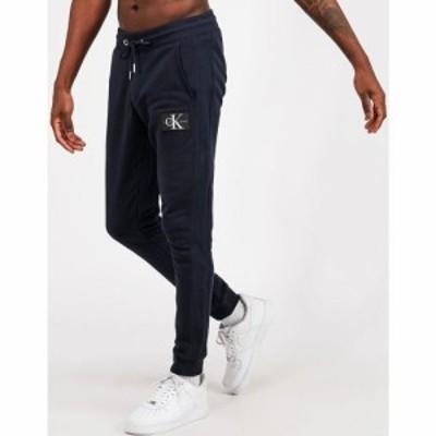 カルバンクライン Calvin Klein Jeans メンズ ジョガーパンツ ボトムス・パンツ Patch Logo Jogger Blue