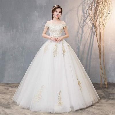 送料無料 ウェディングドレス レディース 高品質 花嫁ドレス 結婚式 ベアトップ ウェディングドレス パーティードレス フォーマルドレス オシャレ