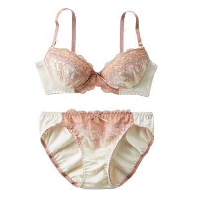 エトゥ オーデコロン ブラジャー。ショーツセット(D75/M) (ブラジャー&ショーツセット)Bras & Panties