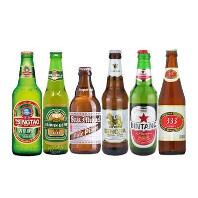 母の日 ギフト おすすめ海外ビールセット アジア編 輸入ビール 6本セット 送料無料