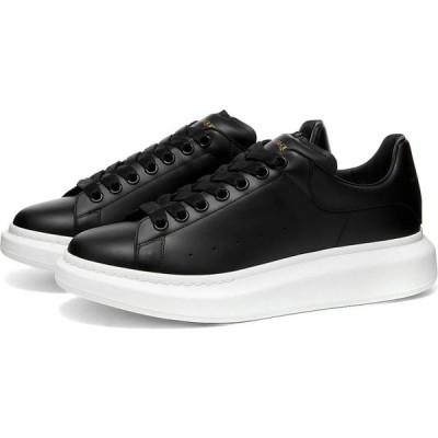 アレキサンダー マックイーン Alexander McQueen メンズ スニーカー ウェッジソール シューズ・靴 Heel Tab Wedge Sole Sneaker Black