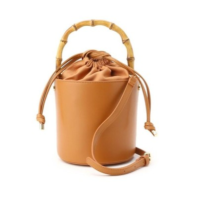 AG by aquagirl/エージー バイ アクアガール 【2WAY】バンブーハンドルバケットバッグ キャメル(041) 00(FREE)