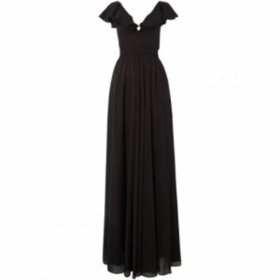 ジル スチュアート Jill Jill Stuart レディース ワンピース ワンピース・ドレス Cap sleeved dress with ruffles Black