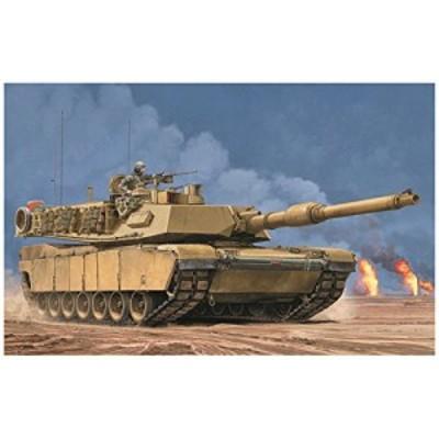 トランペッター 1/16 アメリカ陸軍 M1A2 SEP エイブラムス プラモデル 0092(中古品)