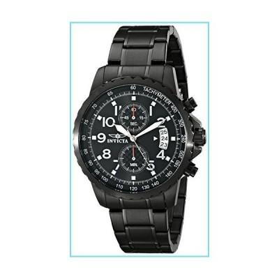 [インビクタ] 腕時計 Specialty 石英 45mm ケース ブラック ステンレス鋼ストラップ ブラックダイヤル 13787 メンズ [並行輸入並行輸入品