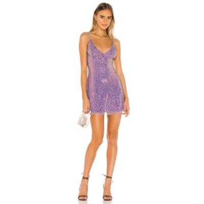 フリーピープル Free People レディース ワンピース ミニ丈 ワンピース・ドレス Gold Rush Mini Dress Lilac