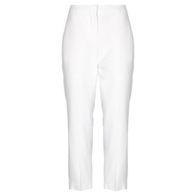 アレキサンダー マックイーン ALEXANDER MCQUEEN パンツ ホワイト 42 レーヨン 52% / アセテート 48% パンツ