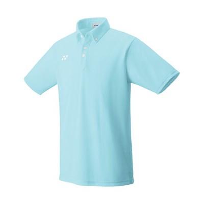 ヨネックス(YONEX) メンズ レディース テニスウェア ゲームシャツ アクアブルー 10438 111 半袖 トップス 部活 クラブ 練習 試合