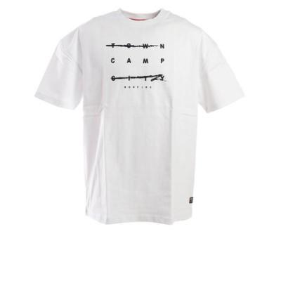 ボンファイア(Bonfire)Tシャツ CAMP HC 半袖 50BNF0SCD2090 WHT