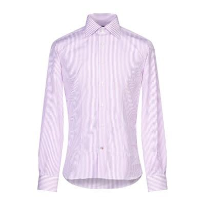 CRESPI シャツ ライラック 40 コットン 100% シャツ