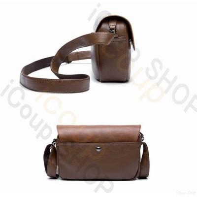 ショルダーバッグ ビジネスバッグ PU革 メンズ 鞄 斜めがけ 肩掛け 通勤 通学 大人 高校生 軽量  レザー おしゃれ 紳士用 出張 男女兼用